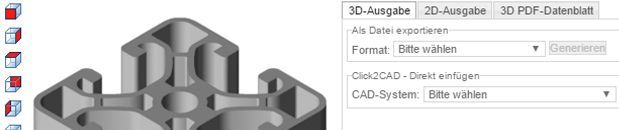 Download di dati CAD